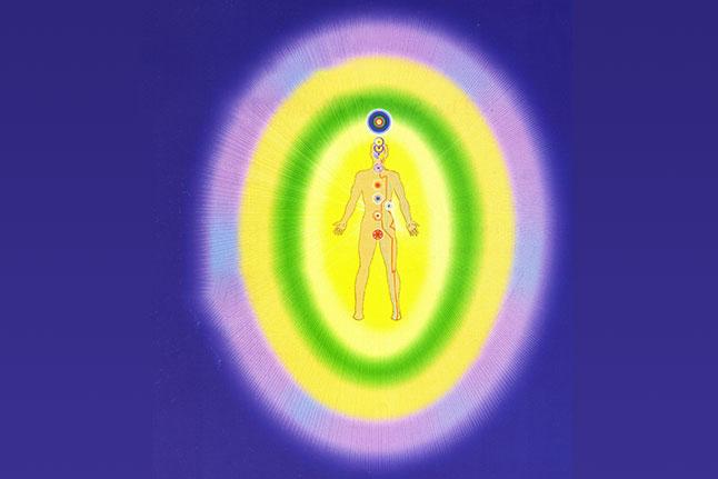 Aura Del Corpo Di Energia Mondo Pranic Healing