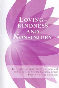 Loving-Kindness and Non-Injury
